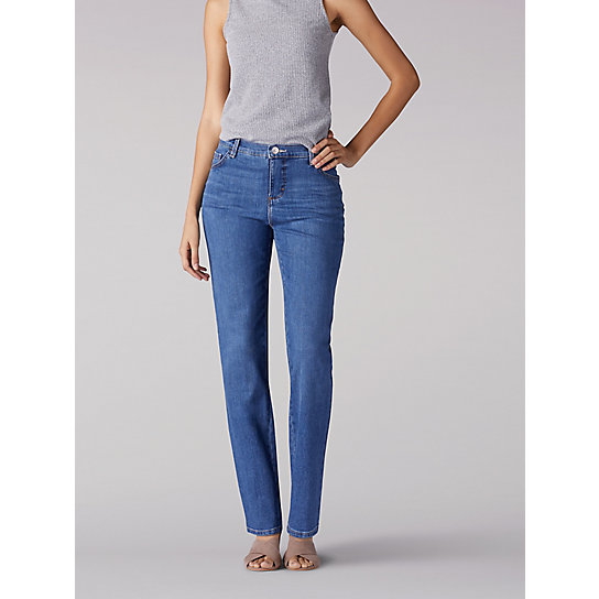 Instantly Slims Relaxed Fit Straight Leg Jean (Classic Fit) - Tall