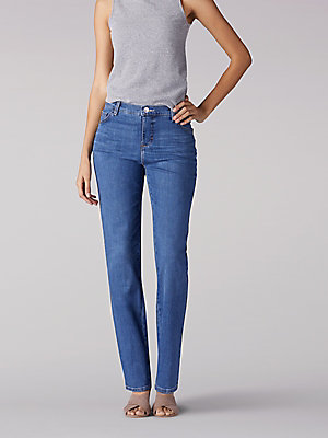 Women's Instantly Slims Relaxed Fit Straight Leg Jean Classic Fit (Tall)
