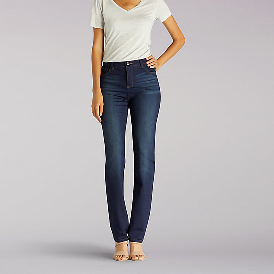 Classic Fit Sophie Straight Leg Jean