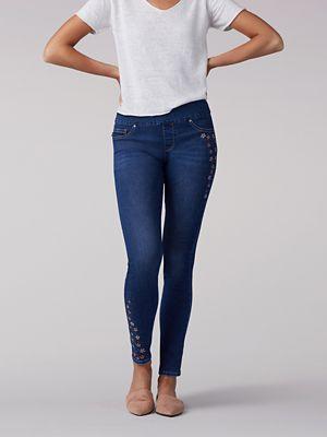 Sculpting Slim Fit Skinny Pull-On Jean - Petite