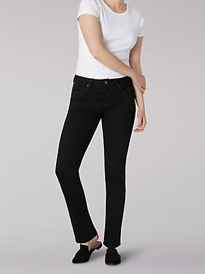 Women's Regular Fit Straight Leg Jean