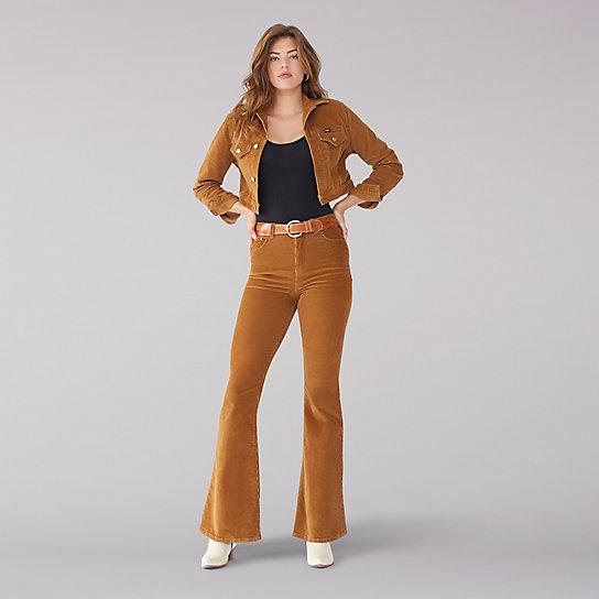 14c5cb8b Vintage Modern High Rise Flare Jean - Ochre | Lee