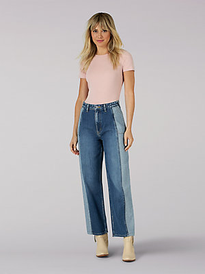 Women's Vintage Modern High Rise Seamed Stovepipe Jean