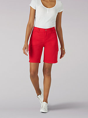Women's Flex-to-Go Relaxed Fit Cargo Bermuda (Petite)