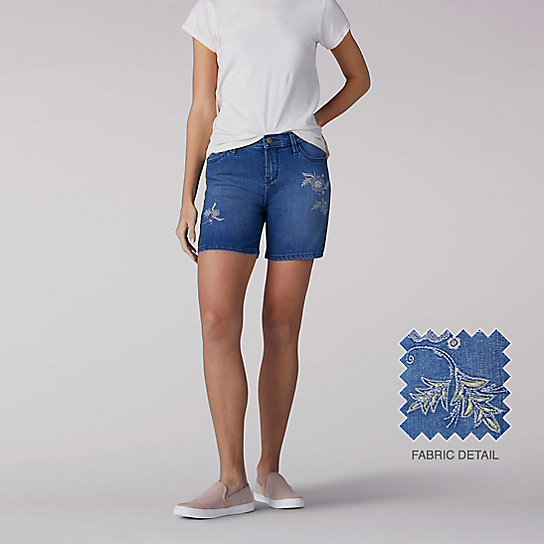 Modern Series Embroidered Cora Shorts