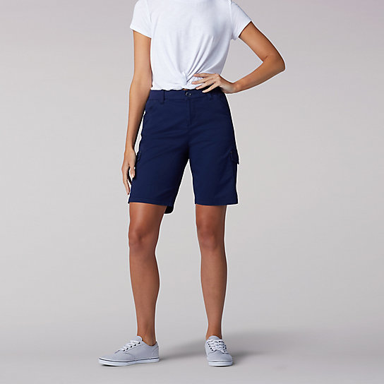 Flex-to-Go Relaxed Fit Cargo Bermuda