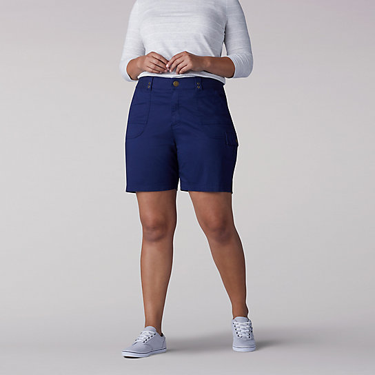 Relaxed Fit Myra WalkShorts - Plus