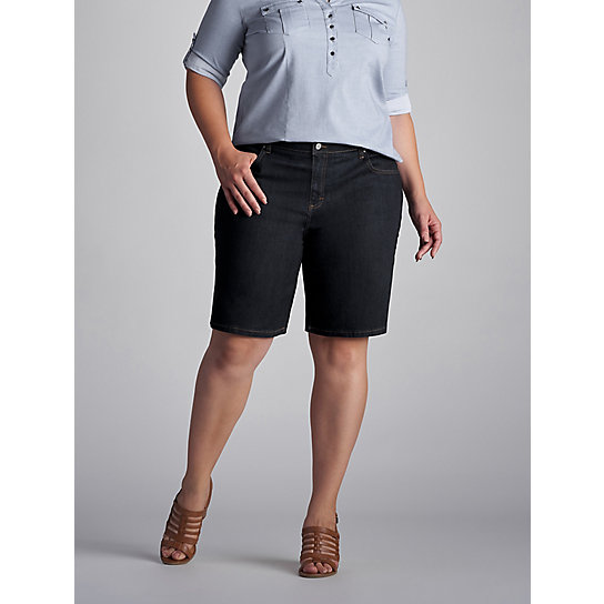 Relaxed Fit Kathy Bermuda - Plus