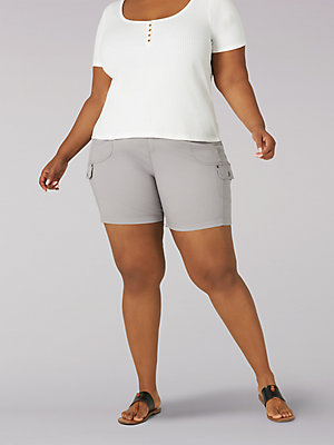 Women's Flex-to-Go Relaxed Fit Cargo Short (Plus)