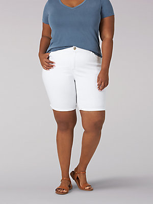Women's Flex Motion Regular Fit Bermuda (Plus)