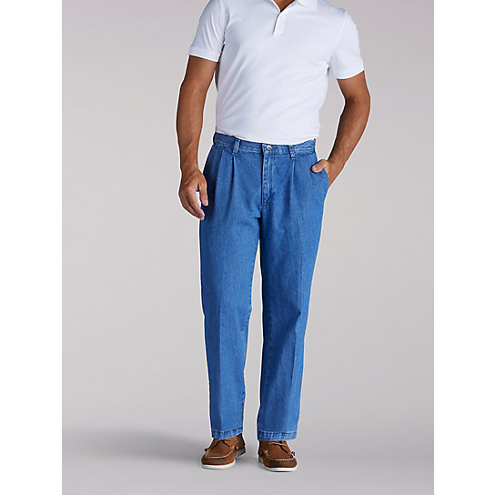 Stain Resist Pleated Pants - B&T