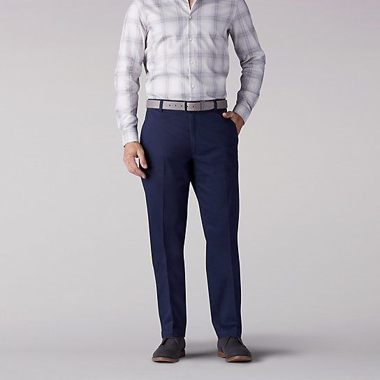Premium Tri-flex No Iron Relaxed Fit Pants