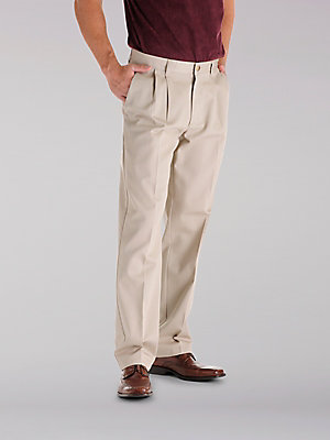 Men's Stain Resist Pleated Pant (Big & Tall)