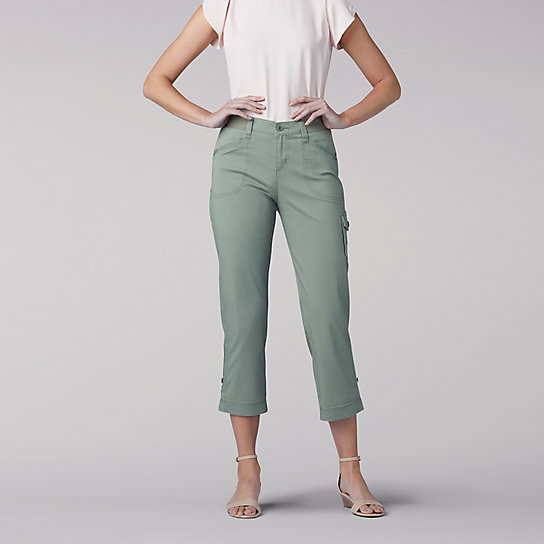 Flex-to-Go Relaxed Fit Cargo Capri