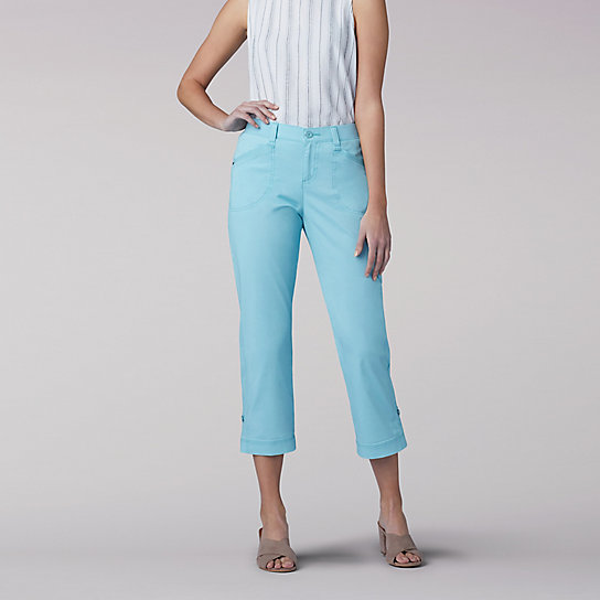 3f58fcbabb8 Flex-to-Go Relaxed Fit Cargo Capri