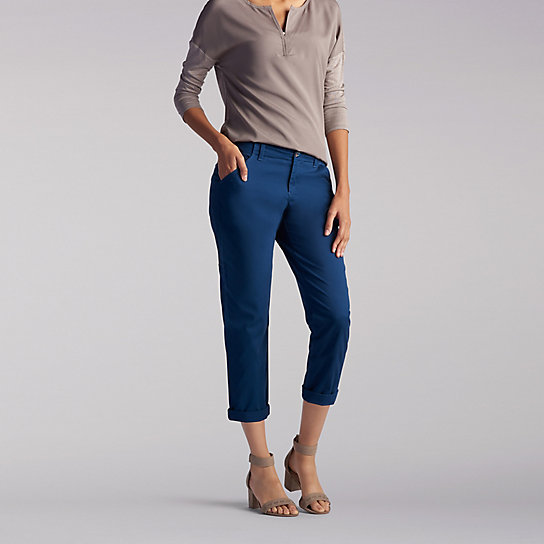 The Essential Chino Crop - Petite