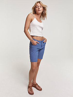 Women's Regular Fit Chino Bermuda