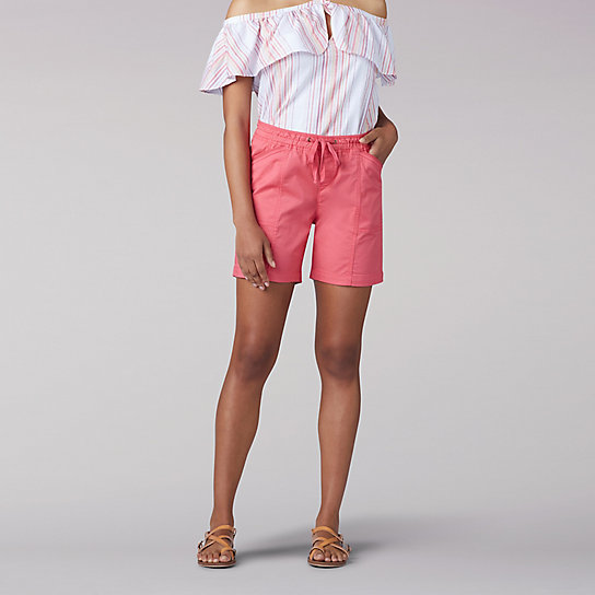Flex-To-Go Relaxed Fit Drawstring Short