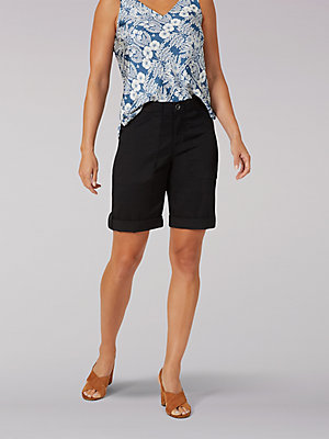 Women's Flex-To-Go Relaxed Fit Utility Bermuda (Petite)