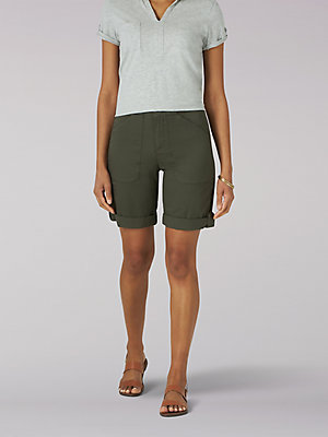 Women's Flex-To-Go Relaxed Fit Utility Bermuda