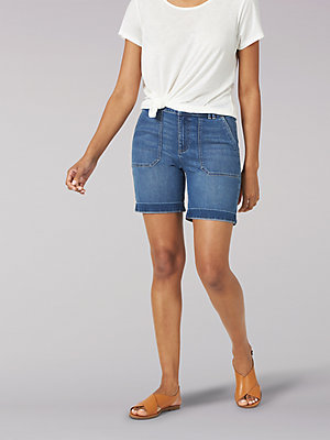 Women's Regular Fit Utility Chino Walkshort