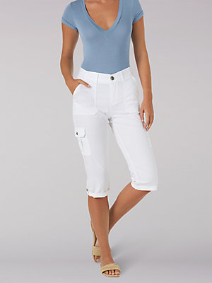 Women's Flex-to-Go Relaxed Fit Cargo Capri