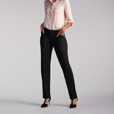 513dd461d683a Relaxed Fit Straight Leg Pant (All Day Pant) - Petite