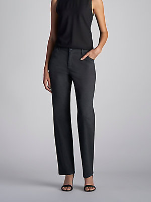 Women's Relaxed Fit Straight Leg Pant All Day Pant (Petite)