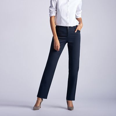 b37f0042 Relaxed Fit Straight Leg Pant (All Day Pant) - Petite | Lee
