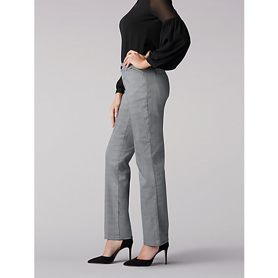 Relaxed Fit Straight Leg Pant (All Day Pant) - Petite