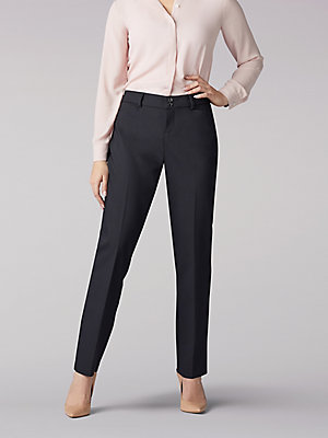 Women's Secretly Shapes Straight Leg Pant (Petite)