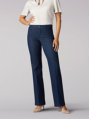 Women's Flex Motion Regular Fit Trouser Pant (Petite)