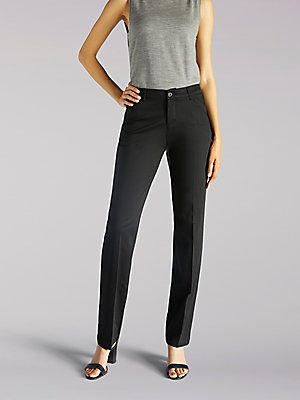 Women's Flex Motion Regular Fit Straight Leg Pant
