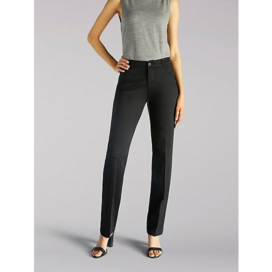 Flex Motion Regular Fit Straight Leg Pant - Tall