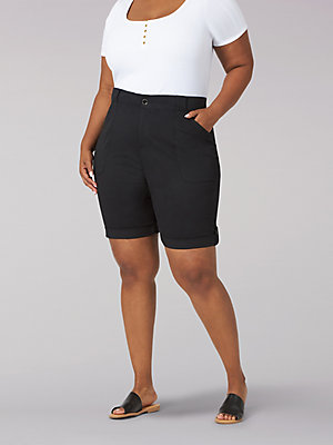 Women's Flex-To-Go Relaxed Fit Utility Bermuda (Plus)
