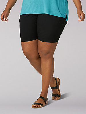 Women's Flex-to-Go Relaxed Fit Cargo Bermuda (Plus)