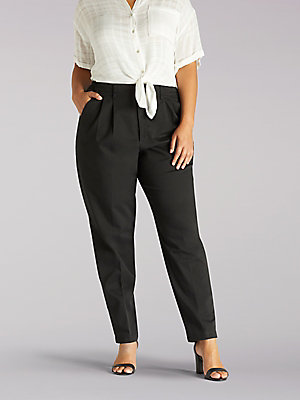 Women's Side Elastic Pant (Plus)