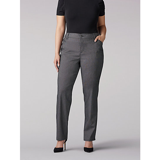 Women's Relaxed Fit Straight Leg Pant (All Day Pant) - Plus