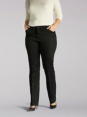 Women's Flex Motion Regular Fit Straight Leg Pant (Plus)