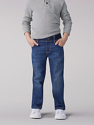 Boy's Extreme Comfort Pull-On Relaxed Fit Jean - 4-7