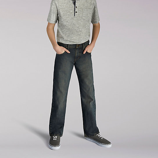 Premium Select Relax Fit Boys Jeans - Husky