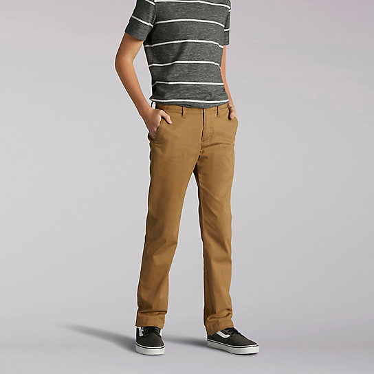 X-Treme Comfort Slim Boys Chinos - Husky
