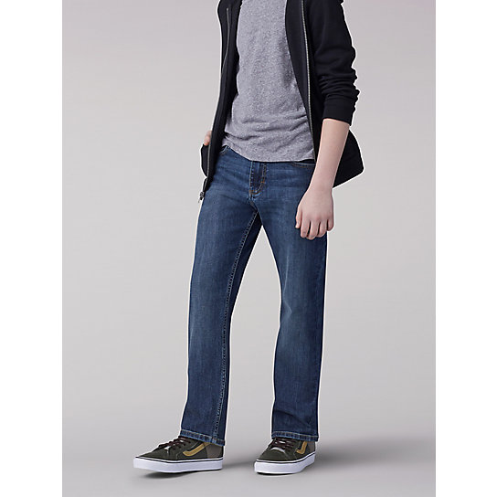 Boy Proof Straight Fit Straight Leg Boys Jean - Husky