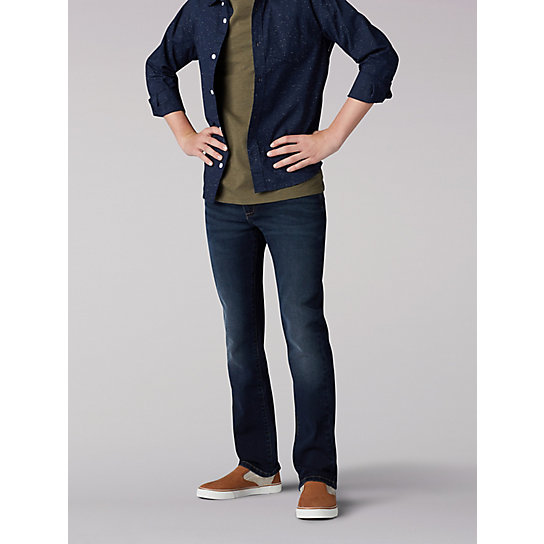 X-Treme Comfort Slim Fit Boys Jeans - 8-18