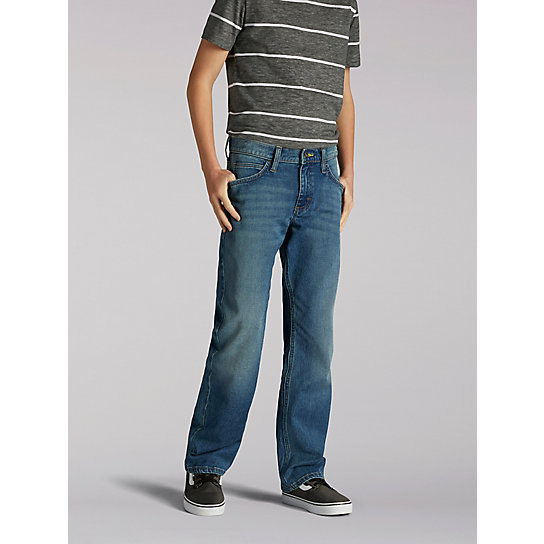 Lee Sport X-treme Comfort Straight Fit Boys Jeans - 8-18