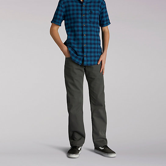 Premium Select Straight Fit Boys Jeans - 8-18