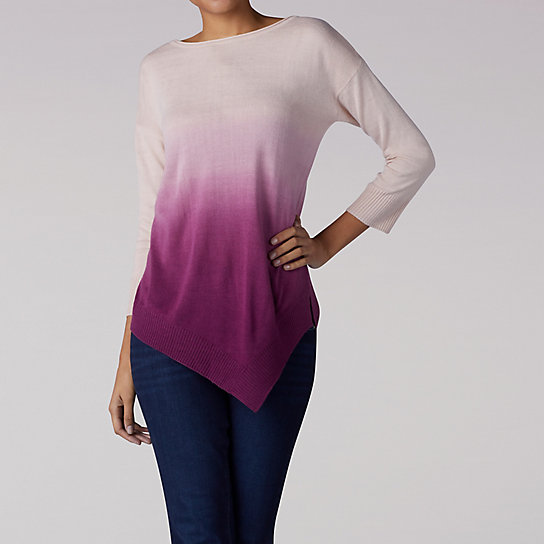 Dip Dye Pull Over Sweater