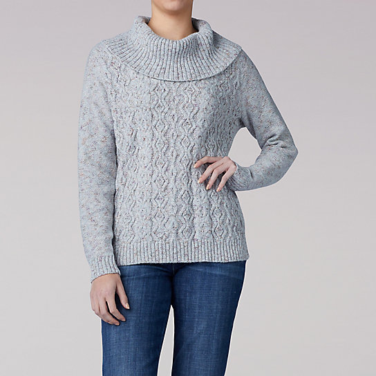Cowl Neck Pull Over Sweater