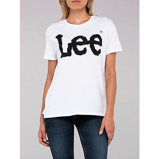 Lee European Collection - Lee Logo Tee - White