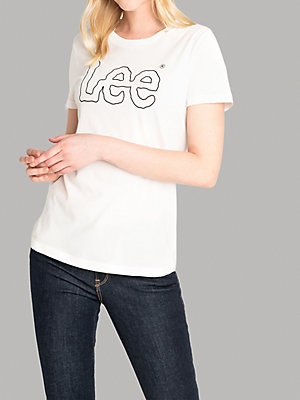 Women's Lee European Collection Essential Logo Tee